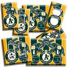 A'S OAKLAND ATHLETICS BASEBALL TEAM LIGHT SWITCH OUTLET WALL PLATE COVER DECOR on Ebay