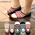 5/10 Pair Women Invisible No Show Nonslip Loafer Boat Liner Cotton Socks Low Cut