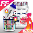 EHPLABS OXYSHRED THERMOGENIC FAT BURNER + OXYWHY LEAN PROTEIN ALL FLAVOURS