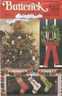 Butterick 5093 Christmas Ornaments, Socks and Wreath One Size   Sewing Pattern