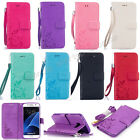 Fashion Flip Pattern Hybrid Stand PU Leather Cover TPU Case Wallet For Phone YH