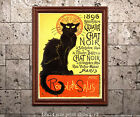 Cabaret du Chat Noir - Vintage 19th Century French Poster for Parisian Cafe