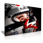 Ayrton Senna Canvas F1 Icon Modern Wall Art Deco Color Spot