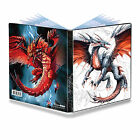 ULTRA PRO BLACK & DEMON DRAGONS A5 4 POCKET PORTFOLIO ALBUM FOR SMALL SIZE CARDS