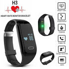 Bluetooth Smart Band Bracelet Heart Rate Monitor Sport Fitness Tracker Wristband