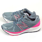 New Balance WPRSMHG D Grey & Pink & White VAZEE Prism Breathe Running Shoes NB