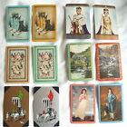 Set of 12 Different but Similar Old CONTRACT BRIDGE SCORING Playing Cards