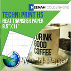 "TECHNI-PRINT HS Heat Transfer Paper For Hard Surfaces 8.5"" x 11"" :)"