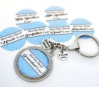 S.KEYRING -L.Blue Worlds Best...Ever S.s+l.u tag ,Big Brother,Dad,Uncle,Grandad