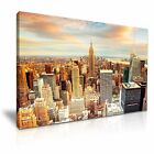 New York Manhattan Canvas Modern Wall Art Picture Print ~ 9 Sizes
