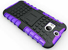 For HTC One M10, M9, M8, M7 Max Rugged Tough Strong Workman Tradesman Case Cover