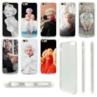 Sexy Marilyn Monroe Life Picture Soft Clear Print Hard Back For Iphone 5S 6SPlus
