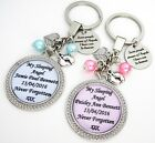 S.KEYRING (1)- Some people dream...Tx (N&D) Baby loss,Miscarriage,SIDS,stillborn