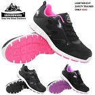 LADIES GROUNDWORK LIGHTWEIGHT WOMENS SAFETY TRAINERS STEEL TOE CAP WORK BOOTS SZ