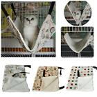 Cute Pet Cat Hammock Leopard Fur Bed Animal Hanging Dog Cage Comforter Ferret