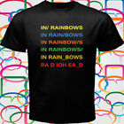 NEW RADIOHEAD In Rainbows Rock Band Legend Men's Black T-Shirt Size S to 3XL