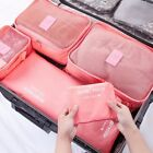 6 Piece Luggage Travel Storage Packing Bag Pouch Organizer Waterproof