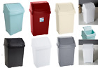 25L Swing Bin Waste Refuse Rubbish Home Office Kitchen Dustbin Plastic Bins