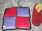 Colorful Squeaker Dog Toys Pad Slipper Booty Play Chew Exercise Plush NEW!
