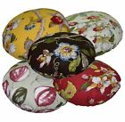 ai+5 Plant Pattern High Quality Cotton Round Shape Cushion Pillow Cover Custom