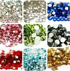 5000 Pcs Wholesale 3D Acrylic Nail Art Tips Stud DIY Decor Glitter Rhinestones