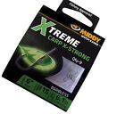 "MIDDY XTREME CARP X-STRONG BARBLESS HOOKS TO NYLON 6""/15cm SIZE 12/14/16/18/20"