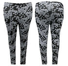 Hot Gal Plus Size Double Knit Printed Stretchy Comfortable Fitted Leggins Pants
