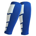 2Pcs Sport Calf Wrap Leg Braces Support Stretch Sleeve Compression Running Socks