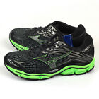 Mizuno Wave Enigma 6 Black/Dark Grey/Green Smooth Ride Running Shoes J1GC161152