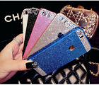 NEW Bling Glitter Diamond Plastic Phone Cover Case For iPhone and Samsung uk