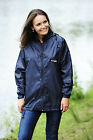 Ladies Or Gents Full zip Raincoat in Pouch with taped seams