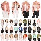 NE PEOPLE Womens Quilted Classy Various Styles Bomber Jacket