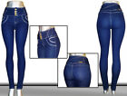 Colombian Design High Waist Rise Push-up Levanta Cola Butt Lift Skinny Jean M840