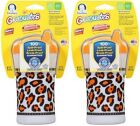 Gerber Graduates 2 Hard Spout Developmental Cups Animal Print 12+M 10oz