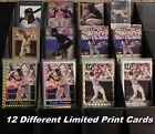 FRANK THOMAS _ 12 Different Limited Print & Promo Cards _ Choose 1 or More