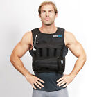 Внешний вид - RUNmax Adjustable Weighted Vest with SHOULDER PADS 20lbs-140lbs Weight Options