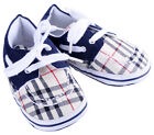 GAP Boys Shoes Slipper Tan Black Tartan Boat Style Lace Slip-ons Accessory Gift
