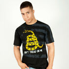 Ranger Up Don't Tread On Me T-Shirt (Black) - mma military rtfu