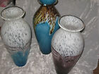 Tall Hand Blown Glass Vase Flowers Decorative Urn Shape Home Gift New!