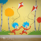 Children Wall Decals Wall Sticker - Dr seuss Characters, Grinch and Max