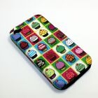For Apple iPhone 4 / 4s Hybrid 2-in-1 Phone Cover Case Mini Cupcakes