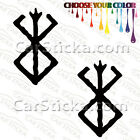 "2 of 5"" Berserk Emblem /A car truck window stickers decals bumper die cut"