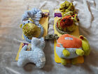 ASPCA Dog Rope Plush Toy Squeaker Animals Puppy Play Exercise Chew NEW!