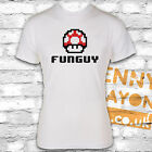 FUN GUY T-SHIRT - MARIO SUPERBROS INSPIRED - MUSHROOM FUNNY