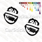 "2 of 5"" Abominable Snowman Yeti /A car bumper window stickers decals die cut"