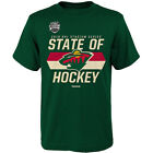Reebok Youth Minnesota Wild 2016 Stadium Series Battle Cry Short-Sleeve T-Shirt $11.99 USD on eBay