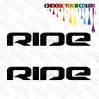 "2 of 8"" Ride Snowboards /A snowboard car truck window bumper stickers decals"