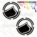 "2 of 5"" Liquid Force /D wakeboard surf car truck window bumper stickers decals"