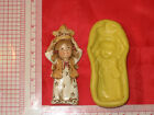 Christmas Nativity Manger Push Mold Food Silicone Cake Chocolate Resin Clay Set2