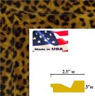 """Custom 2.5"""" Leopard Picture Poster frame-8 inch wide -8"""" Panoramic"""